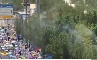 فيديو..  رذاذ الماء لترطيب الأجواء في مشعر عرفات - المواطن