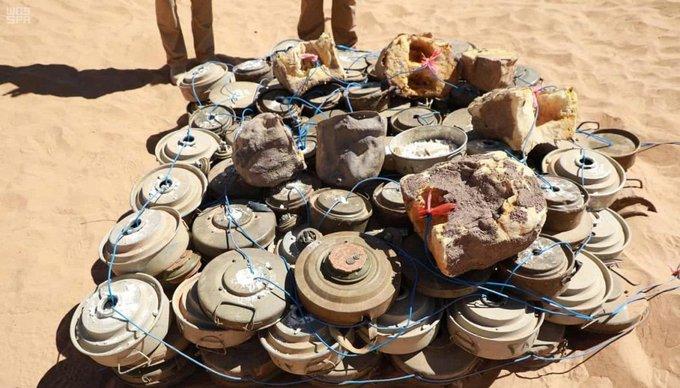 مسام ينتزع 965 لغمًا في اليمن خلال 7 أيام