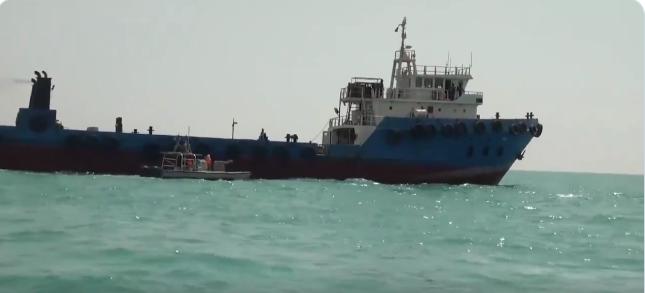 الصورة الأولى لناقلة النفط التي احتجزتها إيران