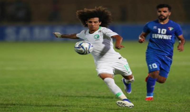 مباراة الكويت والسعودية