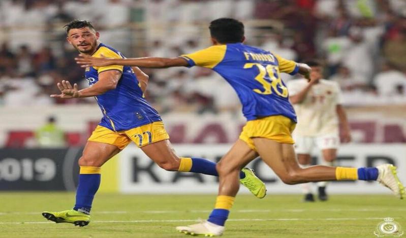 مباراة النصر والوحدة الإماراتي