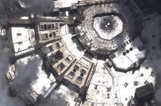 صور.. هكذا يبدو المسجد الحرام ومنى من علو 600 كم - المواطن
