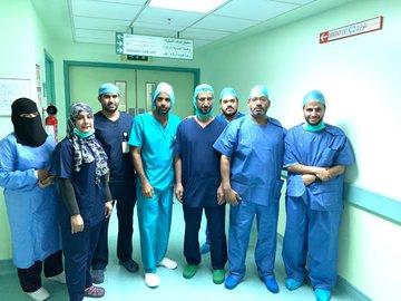 بدء إجراء عمليات المفاصل بمستشفى الرس العام