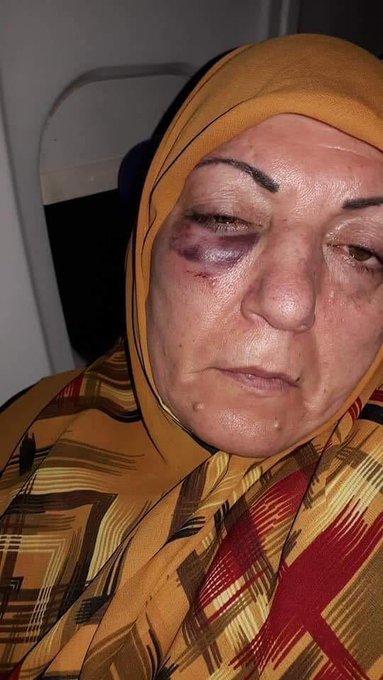 فيديو.. ضابط إيراني يعتدي على عراقية بمطار مشهد