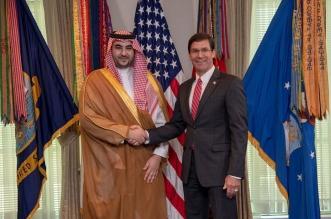 تفاصيل لقاء خالد بن سلمان ووزير الدفاع الأمريكي في واشنطن - المواطن