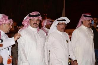 توجيه من تركي بن طلال بعد احتراق سيارة الرمالي في رالي عسير - المواطن