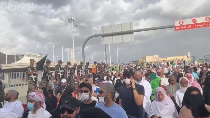فيديو.. هكذا ودع رجال الأمن حجاج بيت الله الحرام - المواطن