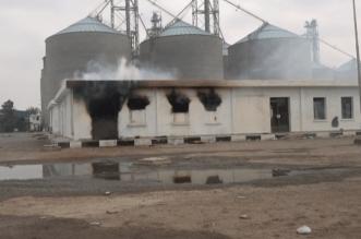 فيديو.. ميليشيا الحوثي تجدد قصف مطاحن البحر الأحمر بالحديدة - المواطن