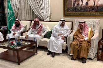 أمير الرياض يقدم العزاء في وفاة نويشي الشيباني - المواطن