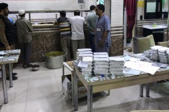 إتلاف أكثر من 200 وجبة بمطعم مخالف في قباء - المواطن