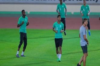 الاخضر قبل مباراة السعودية ضد مالي 1
