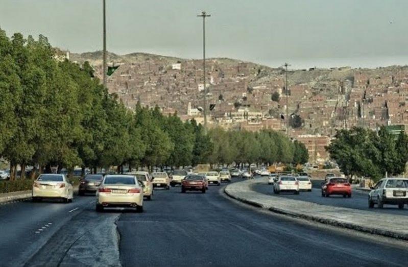 تصادم 5 مركبات على الدائري الثالث في مكة