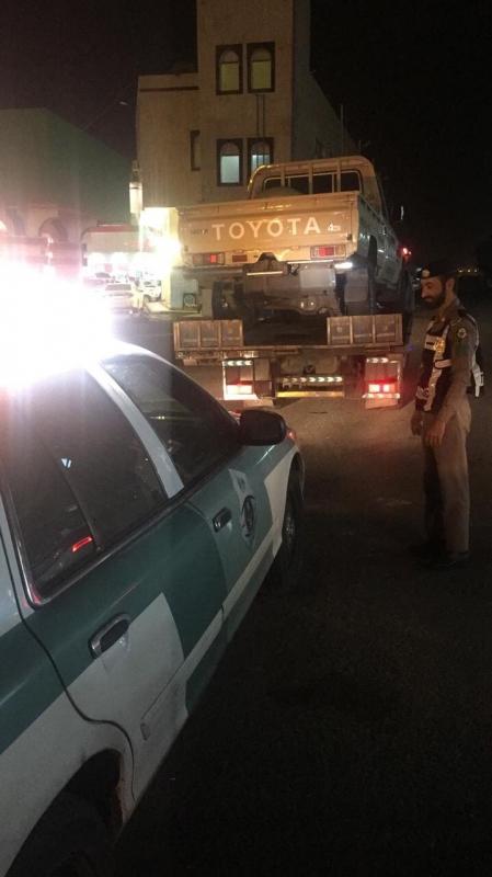 القبض على قائد مركبة طمر الرصيف وتجاوز الإشارة في عسير - المواطن