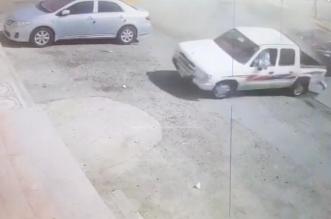 القبض على مفحط تسبب في حادث وهرب بنجران 1