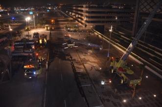 الدفاع المدني يعلن السيطرة على حريق قطار الحرمين - المواطن