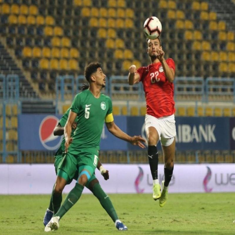 وديًّا.. الأخضر الأولمبي يخسر ضد المنتخب المصري - المواطن