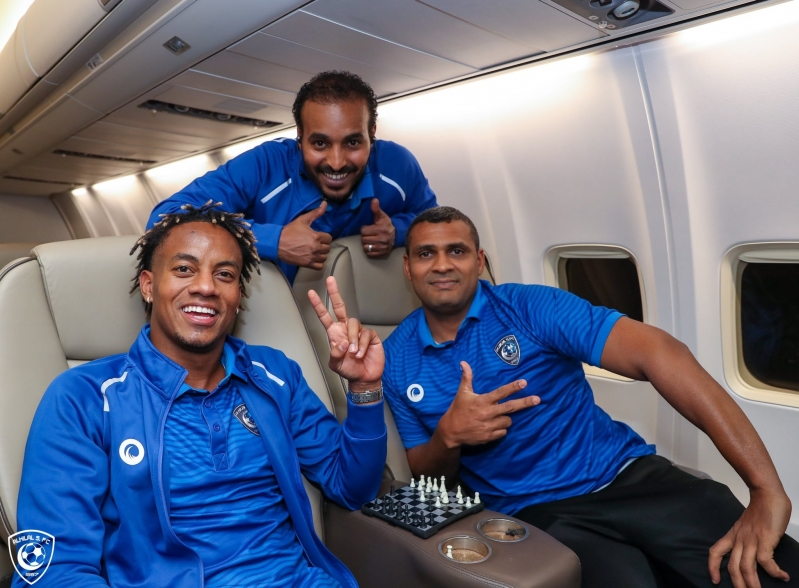 صور.. #الهلال يطير إلى الدوحة