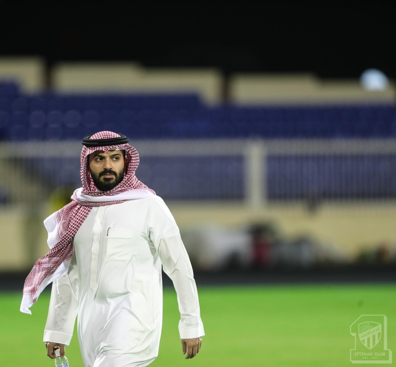 رئيس نادي الاتحاد انمار الحائلي