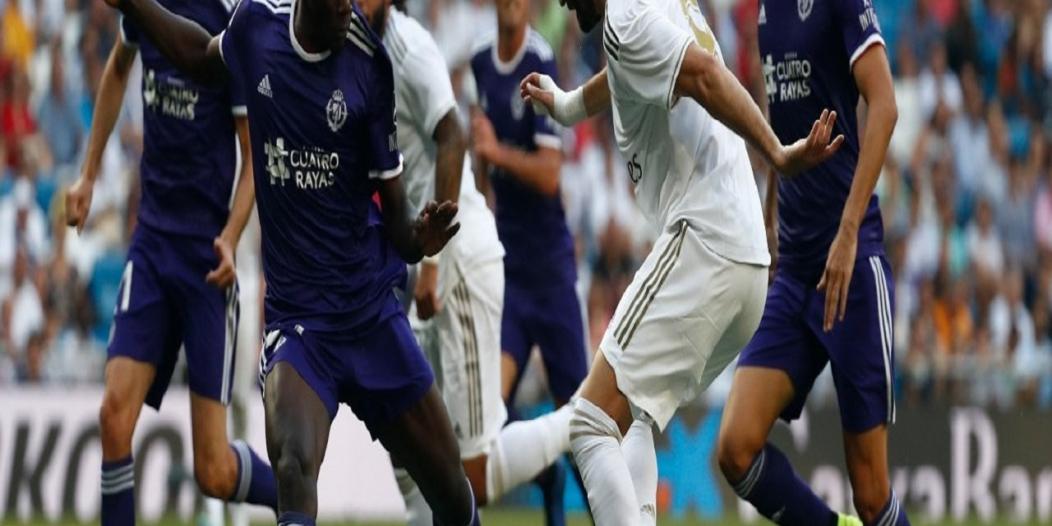 بنزيمة أمل المرينغي في مباراة فياريال ضد ريال مدريد
