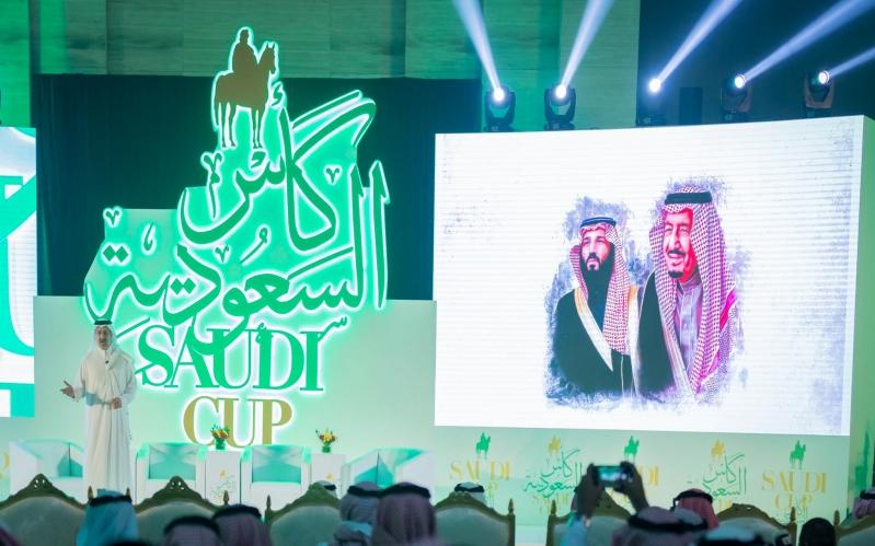 صور.. انطلاق حفل تدشين كأس السعودية العالمي للفروسية