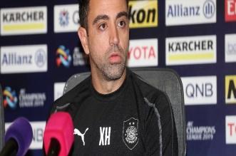 تشافي: مباراة #النصر صعبة ونعلم قوة نجومه - المواطن
