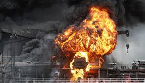 تسع إصابات بانفجار ناقلة نفط في كوريا الجنوبية - المواطن