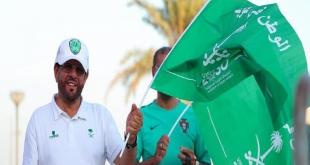 صور.. جماهير الأخضر تتوافد إلى استاد البحرين