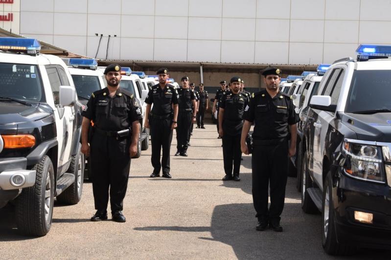 صور.. طلائع قيادة دوريات الأمن تنطلق في عفيف