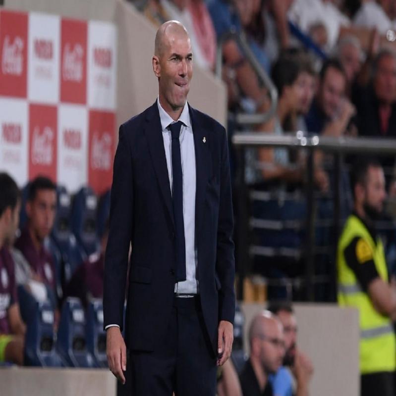 زيدان يُعلق على تعادل ريال مدريد ضد فياريال