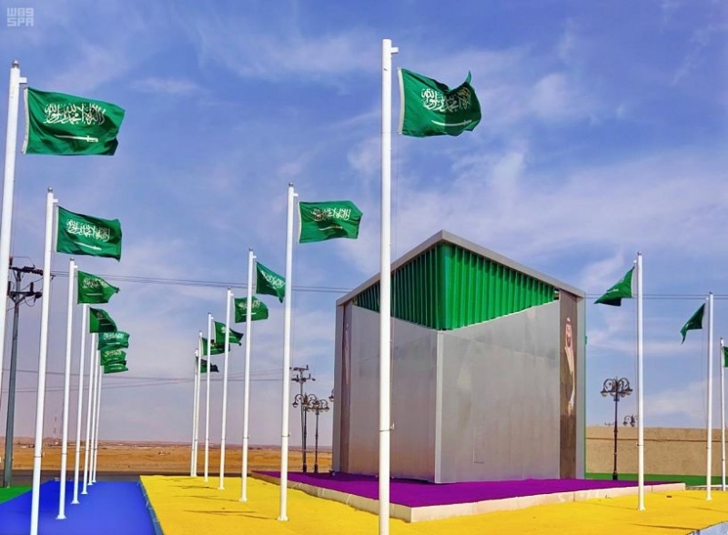 شرورة تتزين بالأخضر والأعلام - المواطن