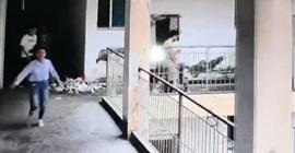 فيديو.. سقوط طالبين من الطابق الرابع بالمدرسة - المواطن