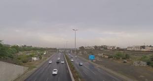 إعاقة مرورية على طريق الأمير ماجد بجدة بعد اصطدام مركبتين