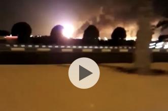 السيطرة على حريق شب بمعمل أرامكو في بقيق - المواطن