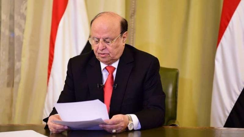 الرئيس اليمني: قطعنا شوطًا في تنفيذ اتفاق الرياض
