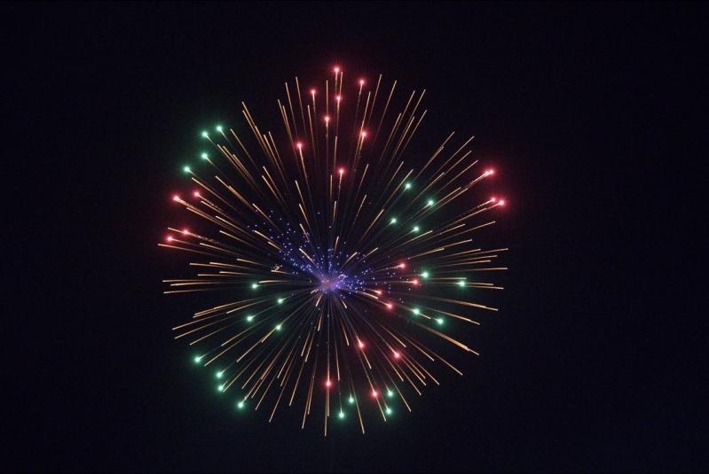الألعاب النارية تضيء سماء الرياض الليلة