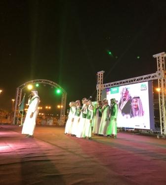 فيديو وصور .. أوبريت فخر الوطن وقصائد شعرية باحتفالات أهالي البرك