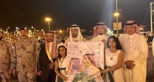 """""""المواطن"""" في احتفالات البرك.. أشعار وهدايا وسماء مضيئة بألوان الوطن"""