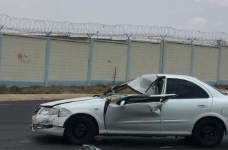 صور.. سائق صهريج ماء متهور يتسبب في حادث مروع بخميس مشيط - المواطن