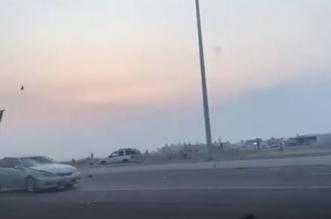 فيديو يوثق حادث دهس مروع .. طار في الهواء ثم سقط جثة هامدة - المواطن