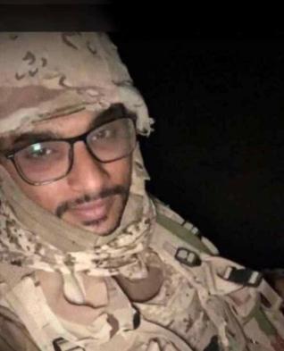 مقطع فيديو للعريف فهد الشهري قبل استشهاده بميدان العز والكرامة