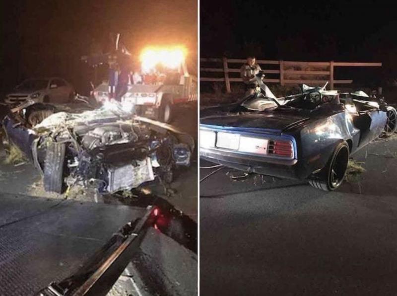 صور.. إصابة كيفن هارت خطيرة وسيارته تفحمت - المواطن