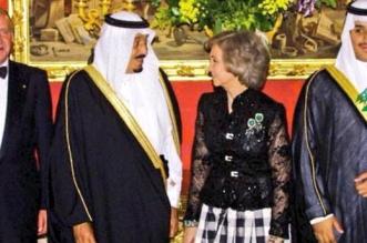 صورة نادرة للملك سلمان وولي العهد خلال زيارة لإسبانيا عام 2001 - المواطن