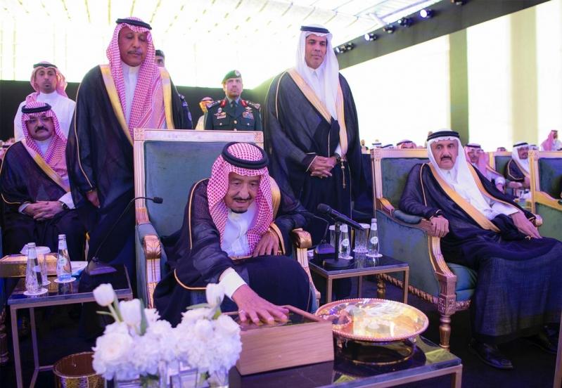 الملك سلمان يفتتح مطار الملك عبدالعزيز الدولي الجديد