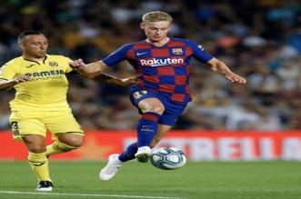 برشلونة ضد فياريال