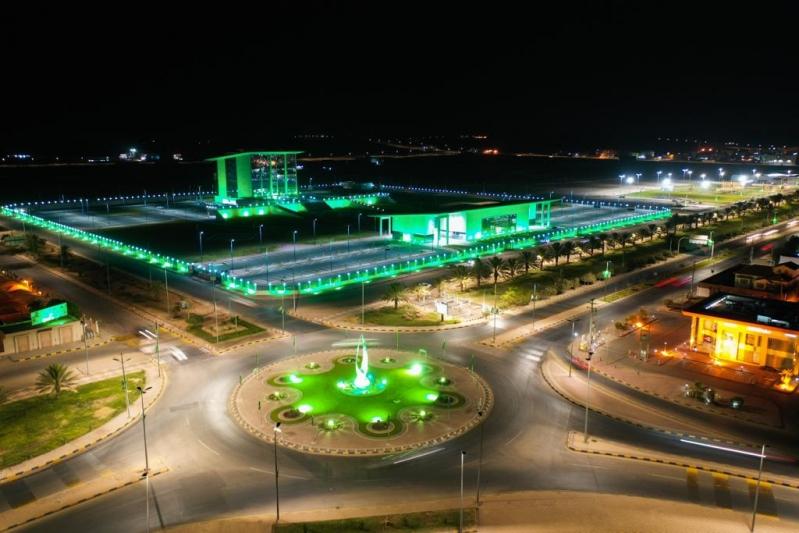 الجوف تستعد بالأخضر و3500 علم احتفالًا باليوم الوطني 89