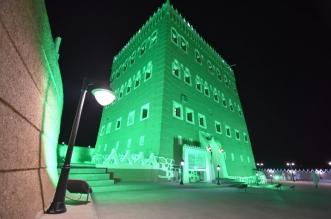 صور.. قصر العان الأثري في نجران يتوشح بالأخضر - المواطن