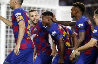 برشلونة ضد فالنسيا