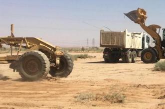 إزالة تعديات على مليونين و900 ألف متر أراضٍ حكومية في الرس - المواطن