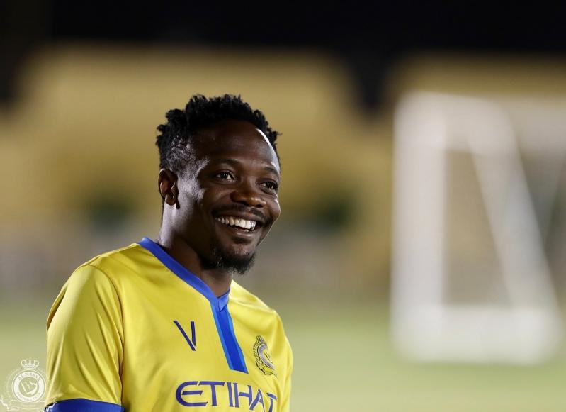 موسى جاهز للمشاركة مع #النصر