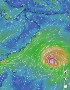 إعصار كيار يثير أمواجاً بارتفاع 14 متراً.. ويتجه لهذه المنطقة
